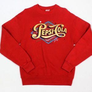 VTG Pepsi Cola Pullover Sweatshirt